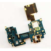 For HTC One M8 Mainboard Motherboard FPC Connector Main Flex Cable With Microphone Power Switch Module