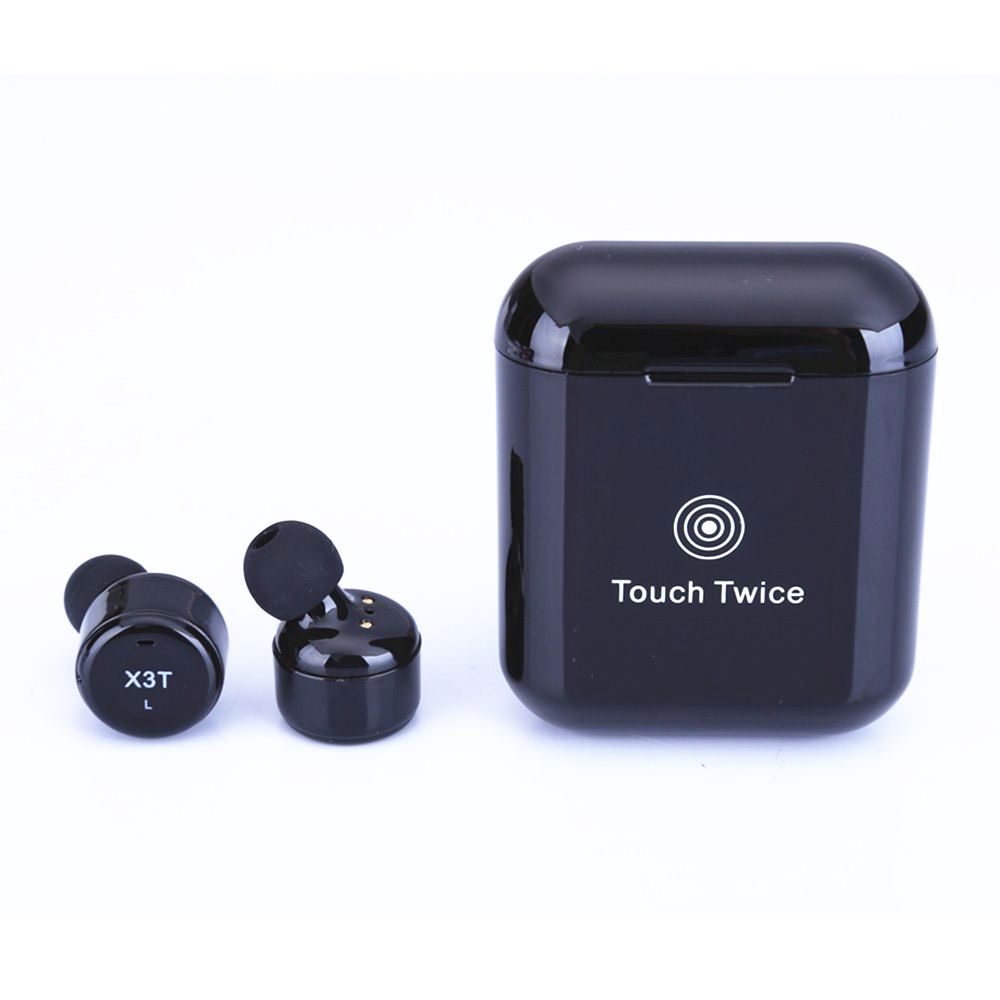 Earbuds X3T TWS Wireless Bluetooth 4.2 Headset Earphone wtih Charger Box Bass Pair