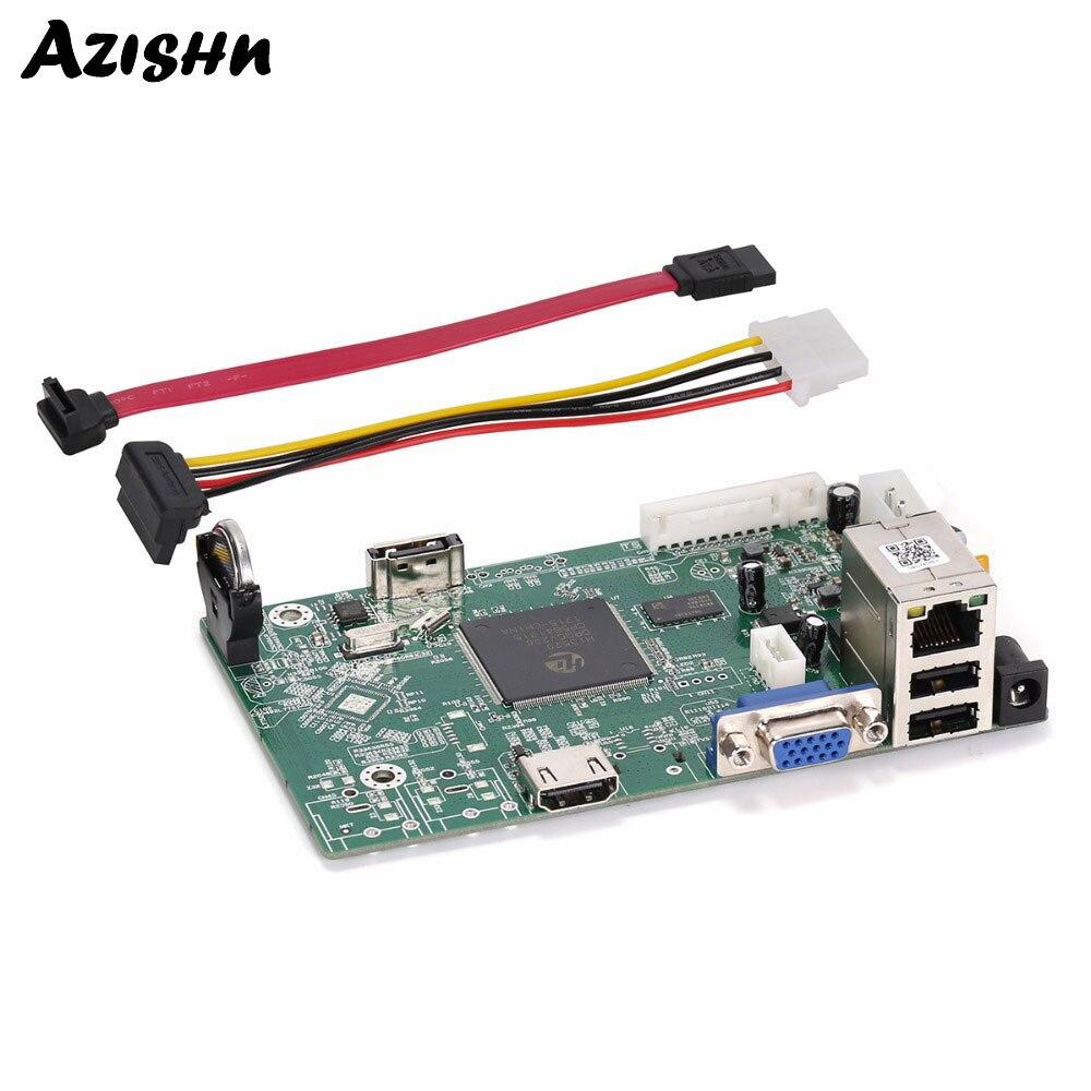 AZISHN 4CH NVR 1080P H 264 Network Video Recorder 4CH 1080P 8CH 960P ONVIF font b