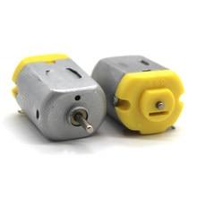 3V-6V Miniature DC motor DIY Homemade Four-wheel Drive Taxi Aircraft Toy Accessories 3500-8000RPM