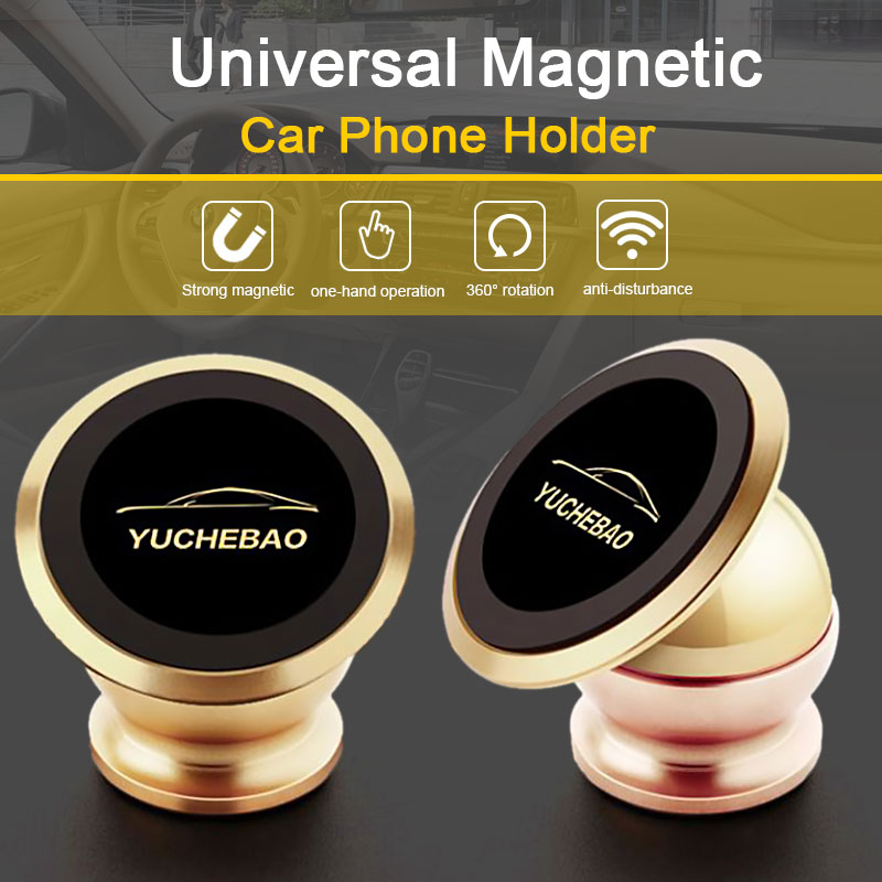 Magnetic Phone Holder Magnetic Mobile Phone Holder Car Phone Stand for iPhone And Smartphone support for mobile