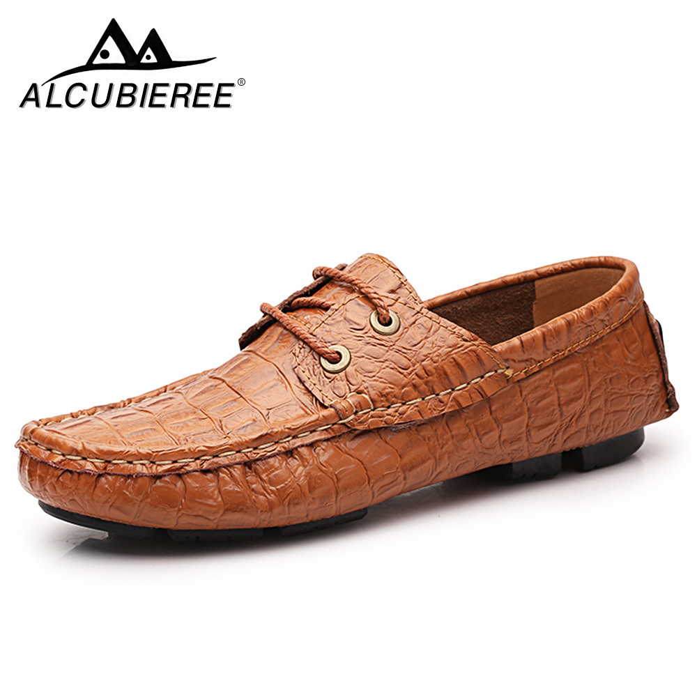 Big Size Luxury Brand Sneakers Male Genuine Leather Shoes Flats Slip on Lofers Moccasins Men Casual Shoes Adult Men Footwear