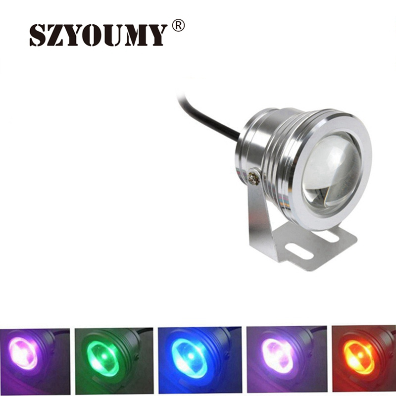 Led Underwater Lights Led Lamps Sincere Szyoumy 10w 12v Rgb Led Underwater Lamp Pool Light Piscina Aquarium Fountain Light Led Underwater Lamp With Remote Control Clearance Price