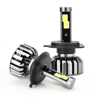 COB LED Hightlight Bulbs Kit H1 H3 H7 H8/H9/H11 880/881 9005 9006 H4 H13 9004 9007 Auto Car Head Lamp Fog Light 6000K 40W 4000LM