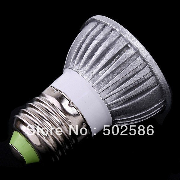 High powered 5pcs/lot AC110/AC220V 3*3W led spotlight bulb lamp red/green/blue color E27 Spot  lights  lamp Warranty 2 years