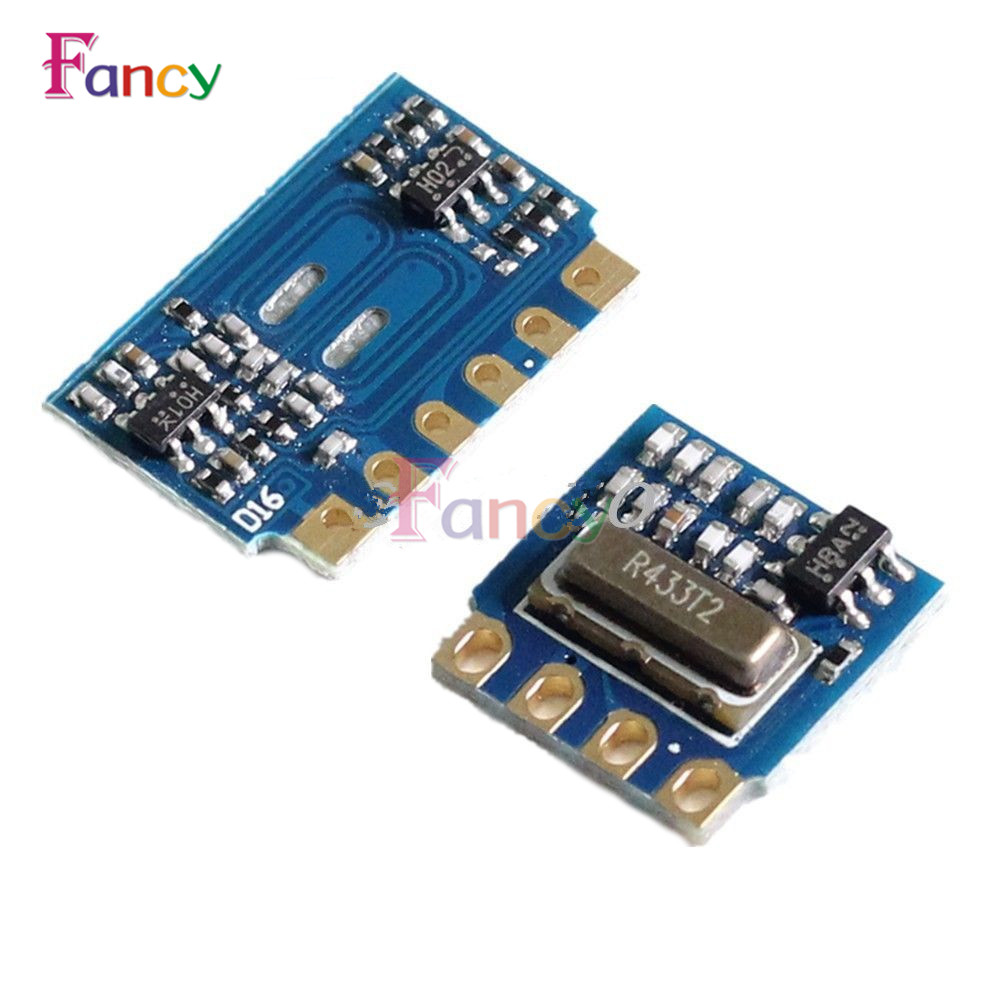 2pcs H5V4D 5V 433Mhz Mini Wireless Receiver Module ASK Remote Transceiver Passthrough + Receiver Module Transceiver Module цена