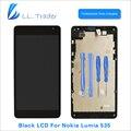 Ll comerciante highscreen aaa lcd touch screen de substituição para microsoft nokia lumia 535 display lcd substituição digitador assembléia