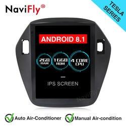 NaviFly Авторадио мультимедийный проигрыватель для Android 8,1 автомобилей gps навигации для hyundai TUCSON/IX35 2009-2012 большой экран WI-FI BT gps
