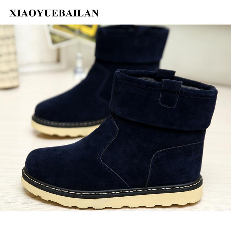 2017 Martin Warm Winter Boots Tide Men Thickening High Bangnan