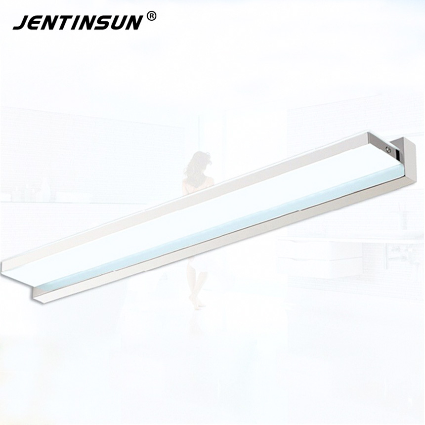 50cm 8W Wall Lights Right Angle Style LED Modern Acrylic Wall Lamp Indoor Bathroom Mirror Light Stainless Wall Sconce Fixtures modern led bathroom light stainless steel led mirror lamp dresser cabinet waterproof sconce indoor home wall lighting fixtures