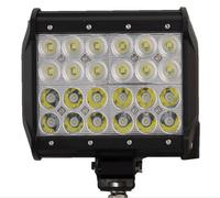 1pcs 72W 7 Inch LED Work Light Flood Driving Lamp For Car Truck Trailer SUV Offroads