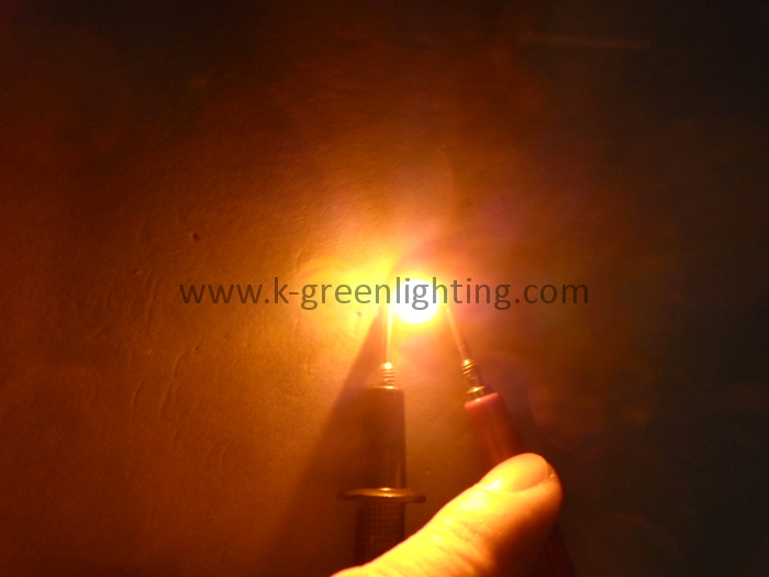 50X Yellow /amber 590-595nm 1W3W5W led lamp beads high quality high power led free shipping