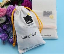 Custom-fazer algodão com cordão saco de jóias de presente colar pulseira nuts acessórios jade bolsa  saco do telefone móvel por atacado
