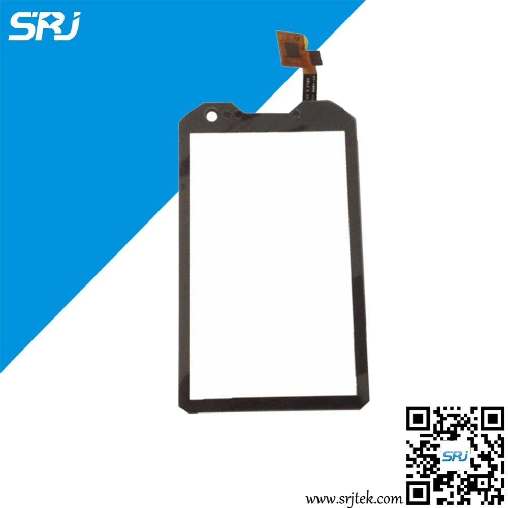 4 Black Original Touch Screen Digitizer Glass For Sonim A8 LAND-ROVER A8 ALPS LANDROVER A8 External Screen Panel