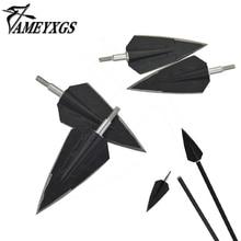 3/6/12pcs Archery Blade Arrowhead 150 Gr Stainless Steel Broadhead 2 Fix Arrow Shaft Hunting Accessory