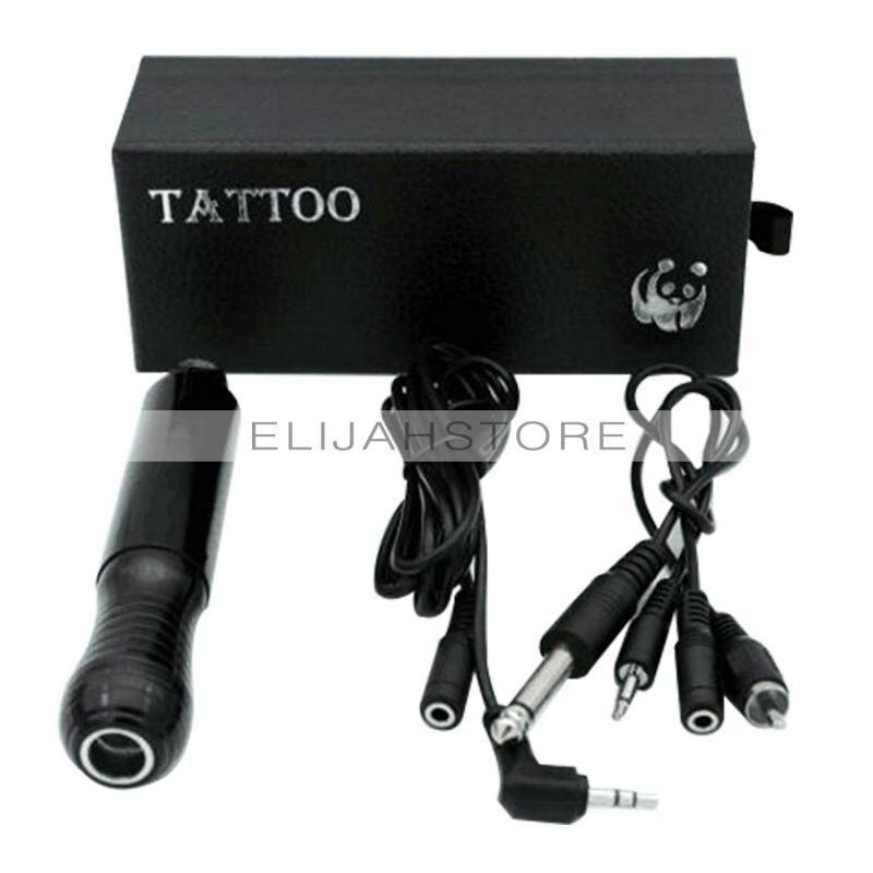 ФОТО CHUSE Beauty Electric  Gun Shader & Liner Assorted  Motor Gun Kits  For Artists Black Color PMU Microblading Tattoo  PMU Eyes