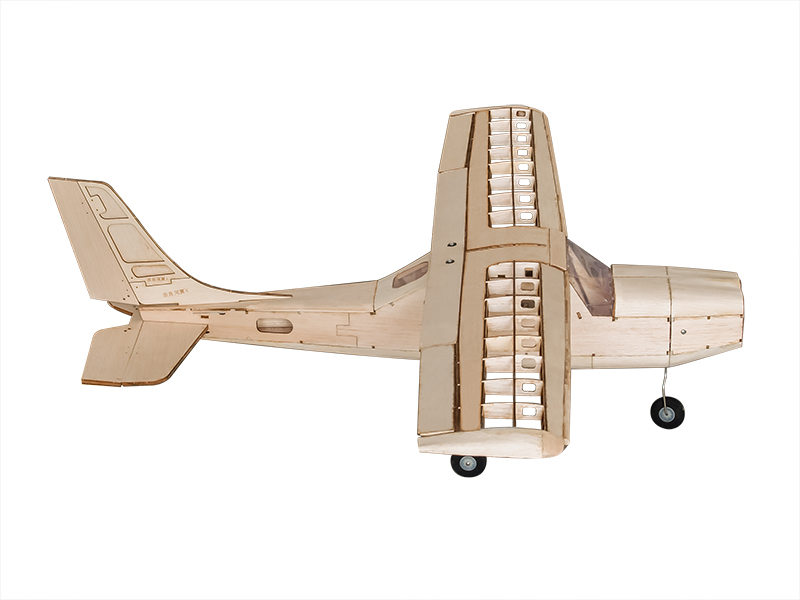 DW Hobby Balsa Wood Model Aircraft Kits, 960MM Cessna RC Planes for