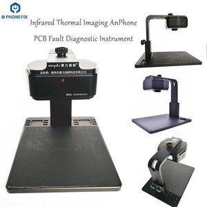 Image 3 - Qianli Analizador de imágenes térmicas infrarrojas para diagnóstico de velocidad, instrumento de diagnóstico de problemas de falla de PCB para teléfono móvil