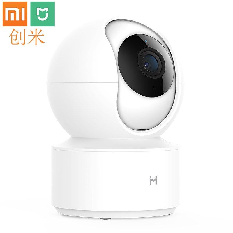 Xiaomi Mijia chuangmi xiaobai caméra intelligente 1080P HD couleur basse lumière technologie Version nocturne sans fil Wifi application pour la maison intelligente