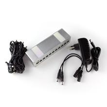 Kokko 10 Way Power Supply for Guitar Effect Pedal Pedal Power  DC 9V 12V 18V Output Negative center