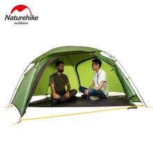 Naturehike factory Cloud peak 2 hexagonal ultralight tent 2 person outdoor camping hiking 4 Season Double Layer Windproof Tent