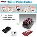 12 sem fio Digital de montanha russa de Pager sistema de paginação de mesa
