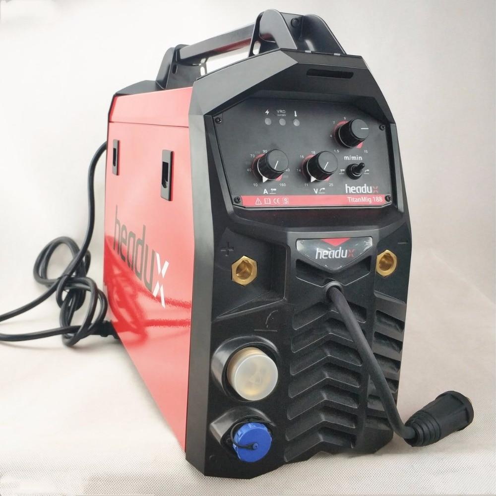 Многофункциональный сварки Machine180A Инвертор МИГ/MAG TIG MMA/Stick песочные часы пистолет сварочное оборудование