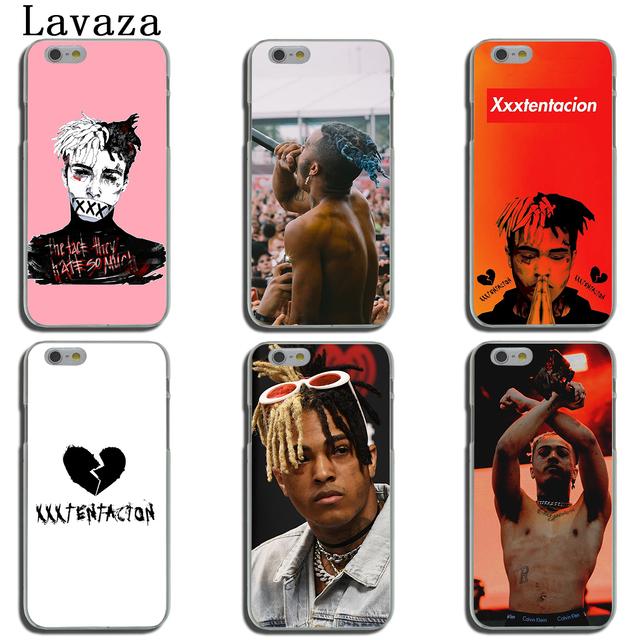 Lavaza RAP MCing XXXTentacion Music Phone Cover Case for Apple iPhone X XR XS Max 6 6S 7 8 Plus 5 5S SE 5C 4S 10 Cases 8Plus
