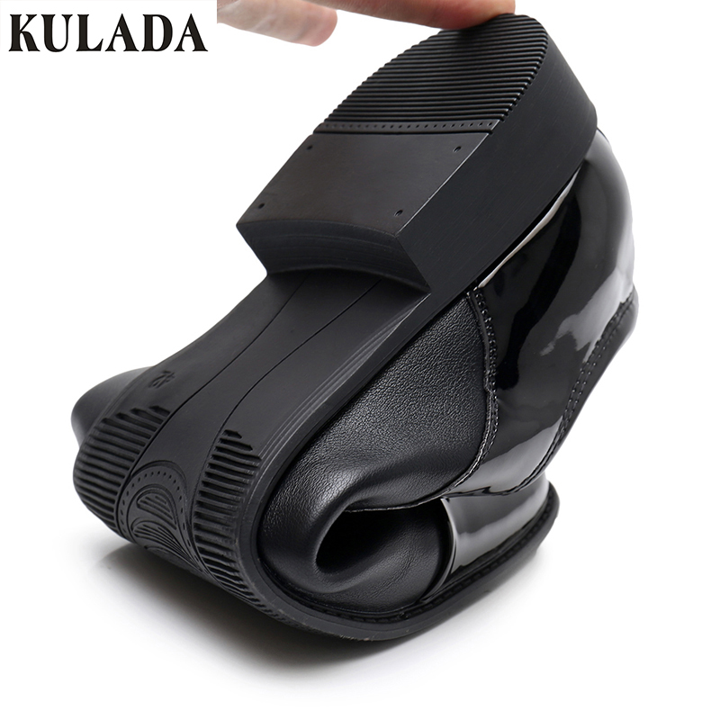 KULADA High Quantiy Mens Classic Shoes Pointed Toe Dress Shoes Men Oxford Shoe For Business Shoes Spring Autumn 51-16