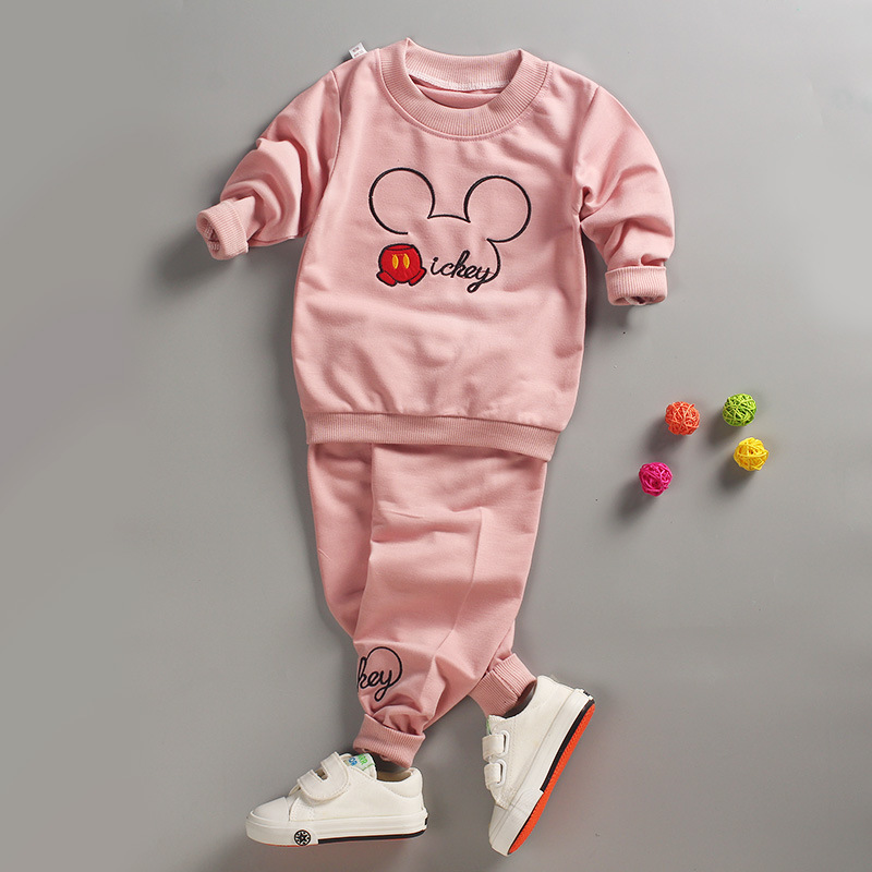 Cute Baby Girl Clothes Sets For Children High Qulity Autumn Long Sleeve Print Toddler Girls Baby Suit for Kid 18M 24M3T4T5T6T autumn winter girls children sets clothing long sleeve o neck pullover cartoon dog sweater short pant suit sets for cute girls