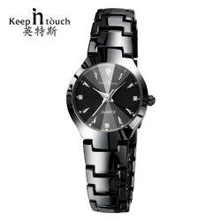 Relógio de pulso de quartzo de luxo feminino relógios designer luminoso mulher strass senhoras relógio de pulso pulseira relogio feminino