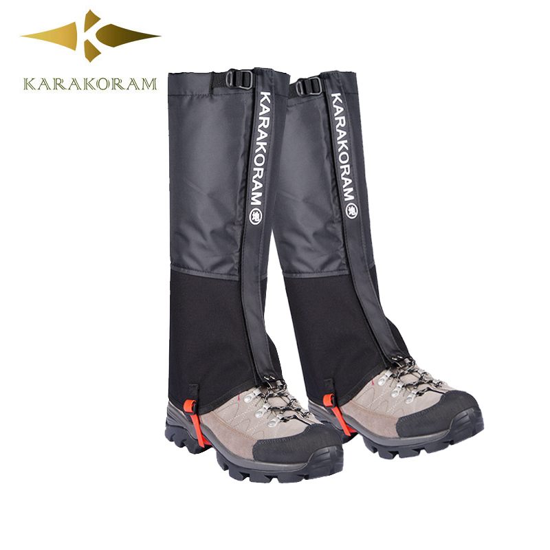 Ghette Outdoor Campeggio Impermeabile da trekking Arrampicata Neve Legging per Uomini e Donne Teekking Sci Desert Boots Shoes Covers