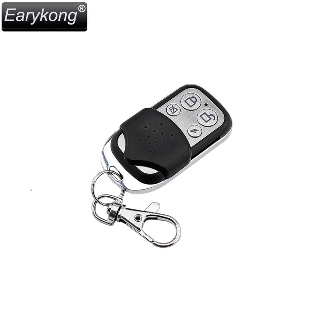 Hot Selling 433MHz Wireless Metal Remote Controller For Home Burglar Alarm System For Wifi GSM Alarm System