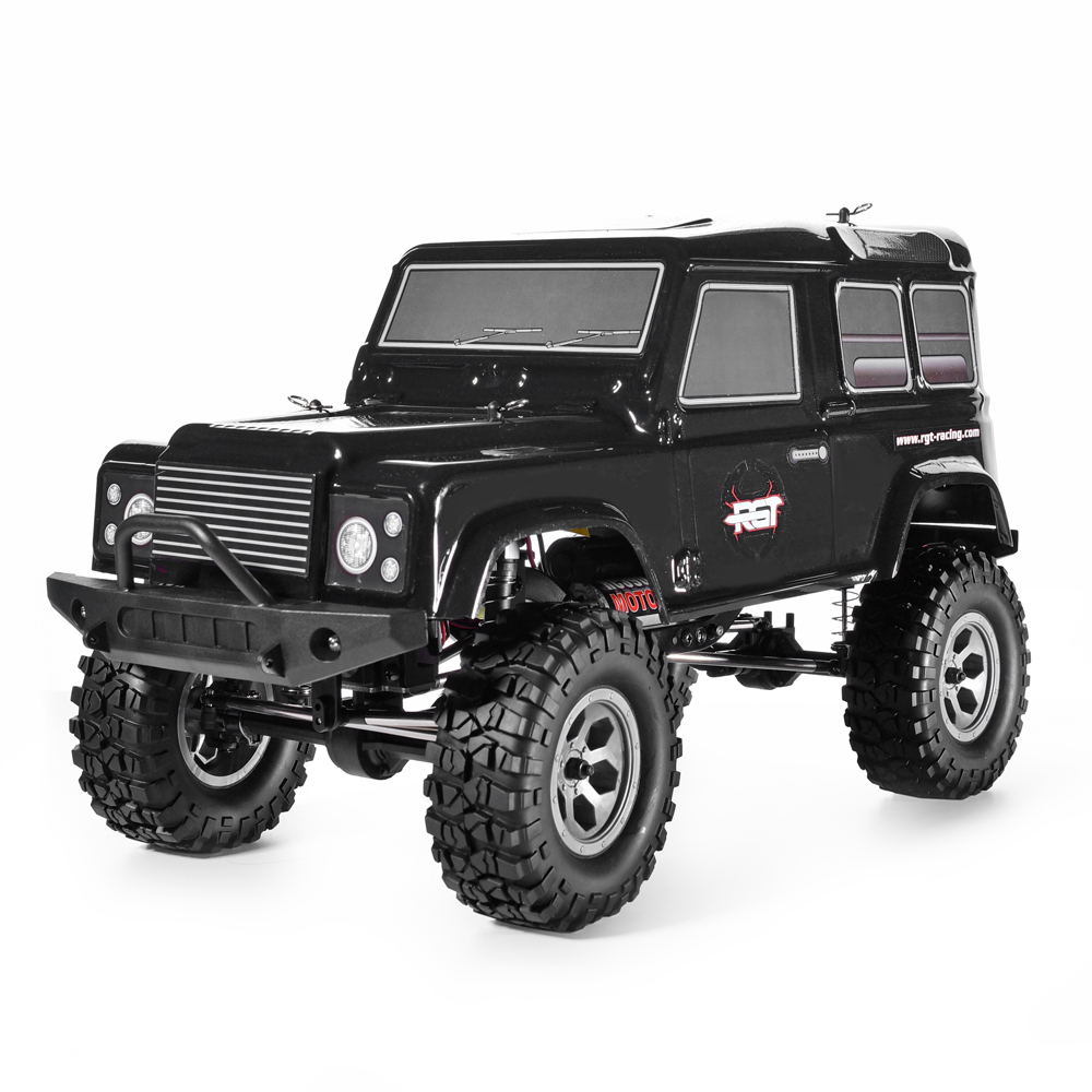 RGT Crawler Rc 1:10 4wd Rc Auto RTR Off Road Camion Rock Crawler 4x4 390 Motore Impermeabile Hobby rock Cruiser RC-4 136100PRO