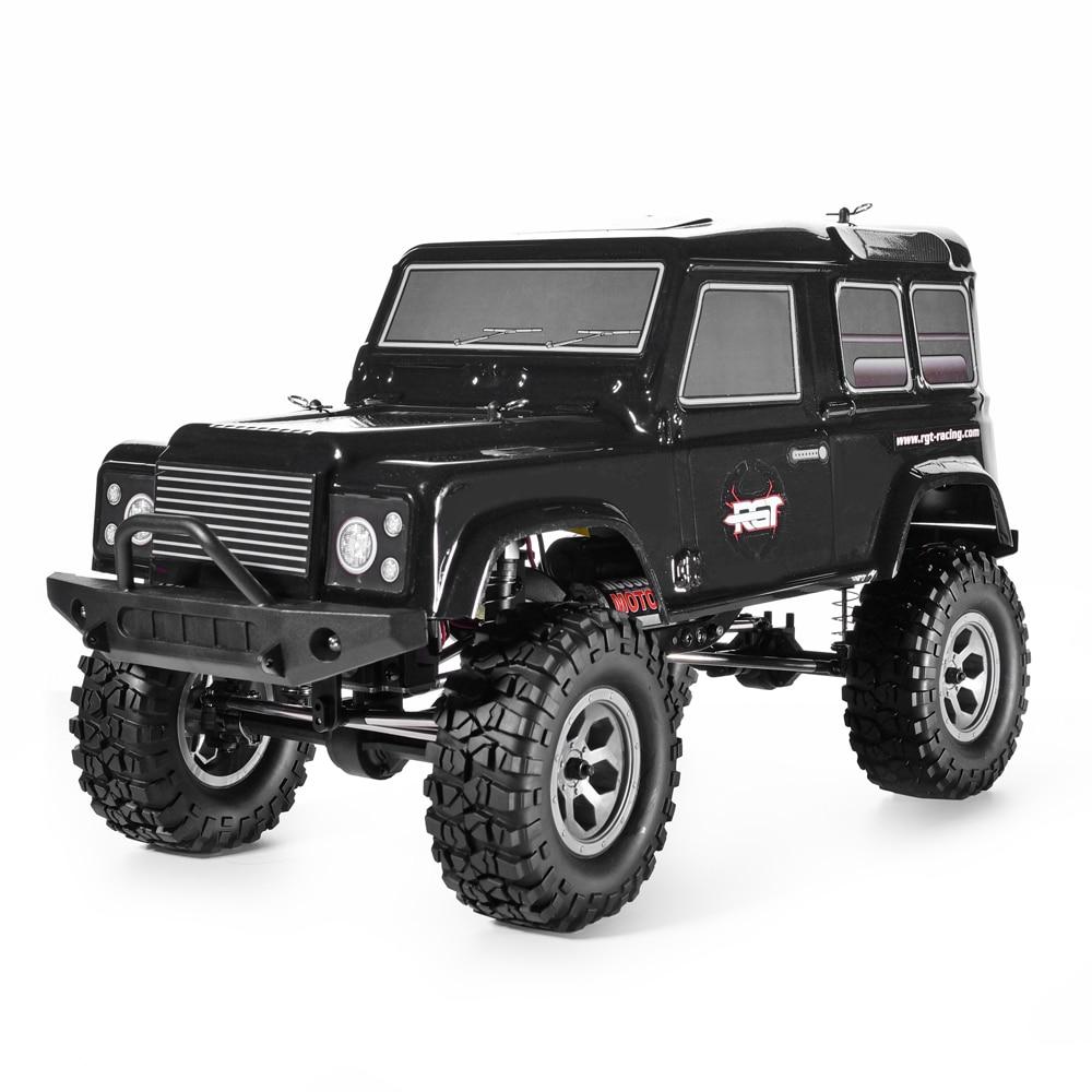 RGT Robots Rc 1:10 4wd Rc Voiture RTR Off Road Truck Rock Crawler 4x4 390 Moteur Étanche Passe-Temps rock Cruiser RC-4 136100PRO