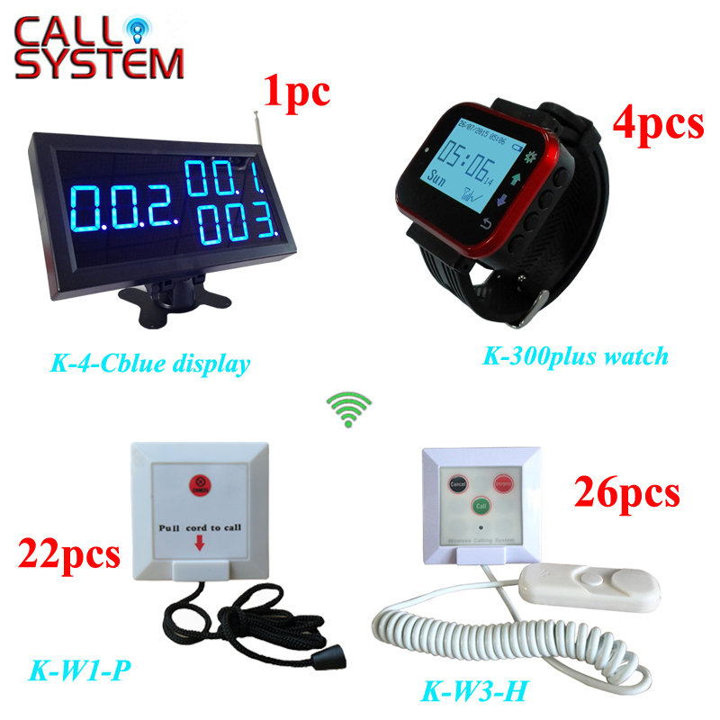 433.92mhz Electronic service calling equipment Hospital Nurse Patient Paging System