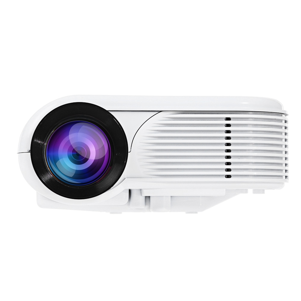 Origianl Prafector White H86 LCD Projector 180 Lumens 640 x 480 Pixels 1080P Home Theater And Outdoor Theater