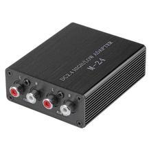 VODOOL автомобильный аудио RCA кабель для колонок высокий до низкий уровень линейный выход конвертер адаптер Музыка Interiments с кабелем провода авто аксессуары конвертеры уровня преобразователь rca в авто