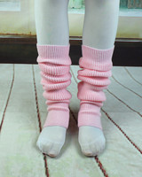Wholesale ballet latin dance leggings Pink red white black winter ballet knitted leg warmers XC-5226