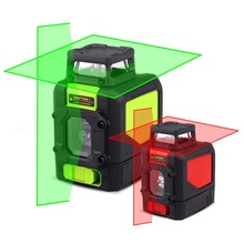 5 Lines Laser Level High Precision Indoor and outdoor Vertical & Horizontal Lasers 3D Five-line Red/Green With Magnetic Base