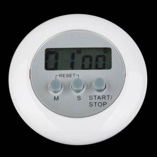 Lcd Digital temporizador cronómetro de cocina con imán despertador blanco temporizador en la cocina