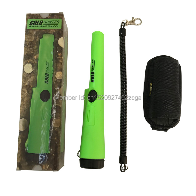 Gold Hunter AT PinPointer Metal Detector Portable Pin Pointer gold detector with Belt Holster underground metal detector pinpointer gold detector treasure hunter buzzer vibrate mini pin pointer led indicators belt holster