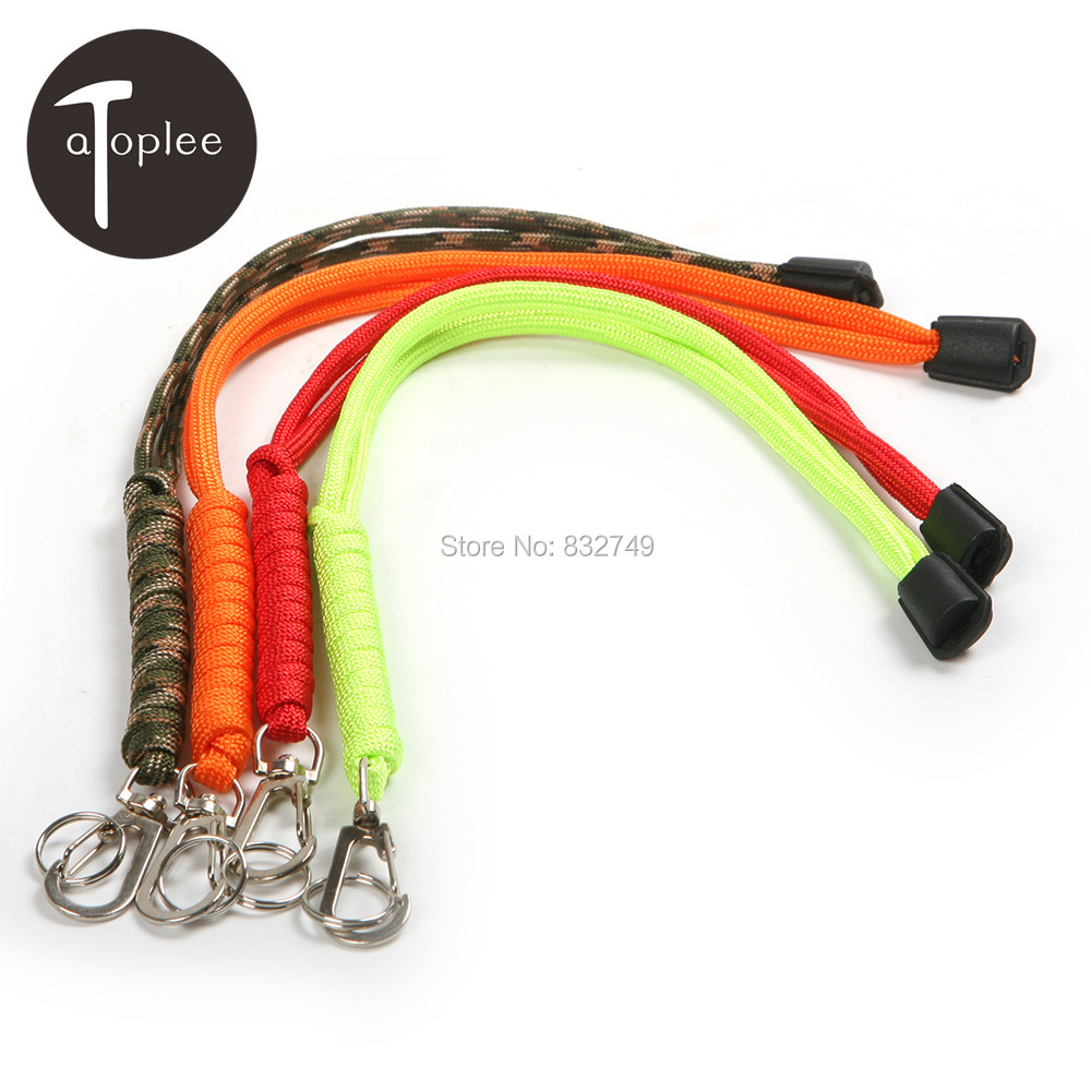 Фото 1PCS Lanyard Strap Rope Keychain for Outdoor Flashlight Torch Knife wrist Hand Cell Phone Mobile Chain Straps