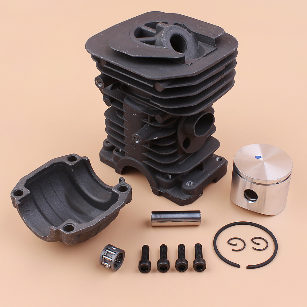 40mm Cylinder Head Piston Pan Mount Screw Set For HUSQVARNA 142 137 141 136 Petrol Chainsaw Top End Rebuild Parts