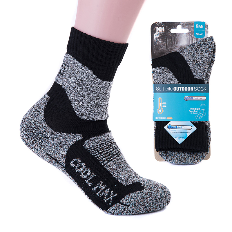 Naturehike men socks winter keep warm sweat-absorbent sports socks outdoor running cycling skiing quick drying thermal socks