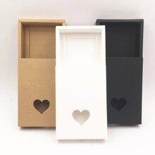 50 قطعة/صندوق هدايا مصنوع يدويًا من ورق الكرافت البني ، صندوق تعبئة ذاتي الصنع/علبة تغليف للحلوى \ الكيك \ المجوهرات \ هدية \ الشوكولاتة