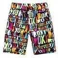 Envío libre Más El tamaño de los hombres ropa casual pantalones cortos de verano masculina capris la rodilla-longitud corta de Cintura Elástica playa de 8x pantalones cortos