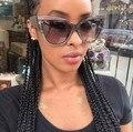 M33 Marca de Luxo Designer de Mulheres de Acetato de Óculos De Sol Oversize Cat eye óculos de Sol Sexy Shades Oculos de sol Feminino