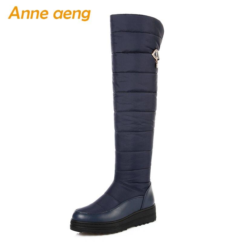 Wealsex Mujer Cu/ñas Cuatro Estaciones Moda Botas De Lluvia Transparente Zapatos De Agua Cremallera Lateral con Hebilla Antideslizantes Botas Impermeable