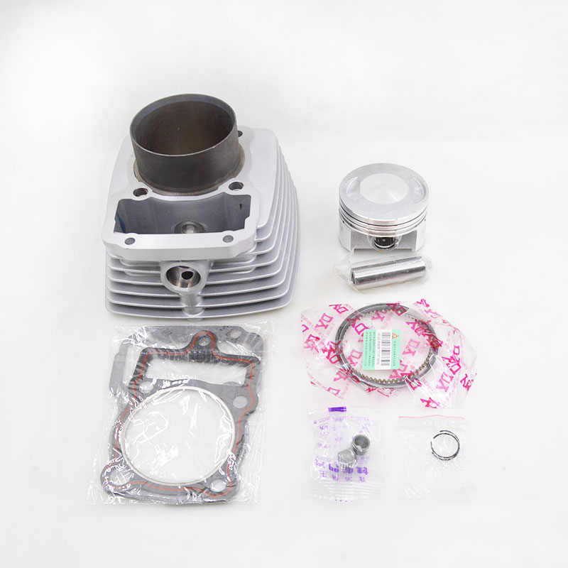 High Quality Motorcycle Cylinder Kit 67mm Bore For Zongshen CG250 CG 250 Air-cooled ATV Dirt Bike Off Road Engine Spare Parts goofit cylinder kit for honda elite ch250 helix cn250 baja hammerhead roketa zongshen chinese water cooled 250cc atv dirt bike